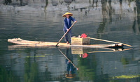 Boatman,Li River, China