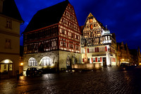 Rothenburg Germany at Night