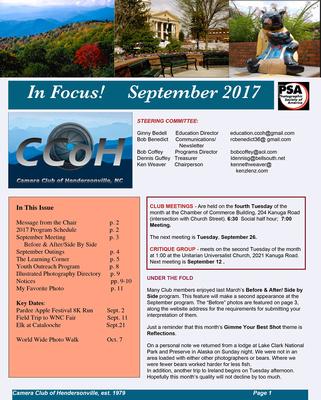 September 2017  Newsletter-1