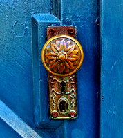 Diane Trochim-Blue Door