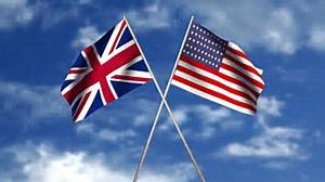 Brit Amer Flags II