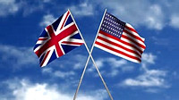 Brit Amer Flags II